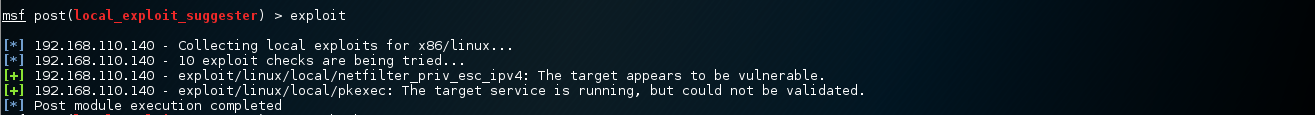 These exploits might work according to metasploit.